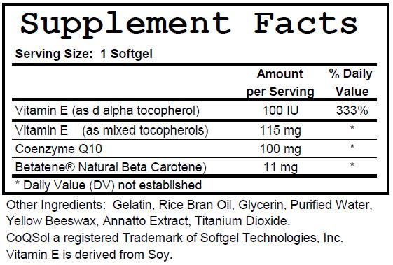 CoQ10_ingredients