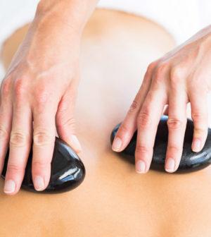 Hot Masseur Giving Massage